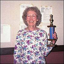 2001 Winner of the Wyoming Open Reserve Section