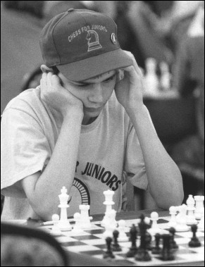 Andrew Smith, Winner of the Wyoming 2002 Scholastic Chess Championship and Wyoming's Denker Scholastic Entry